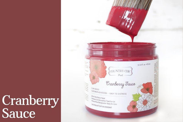 Cranberry Sauce - All-In-One Chalk-Style Paint - 4oz. - 16oz. - 32oz.