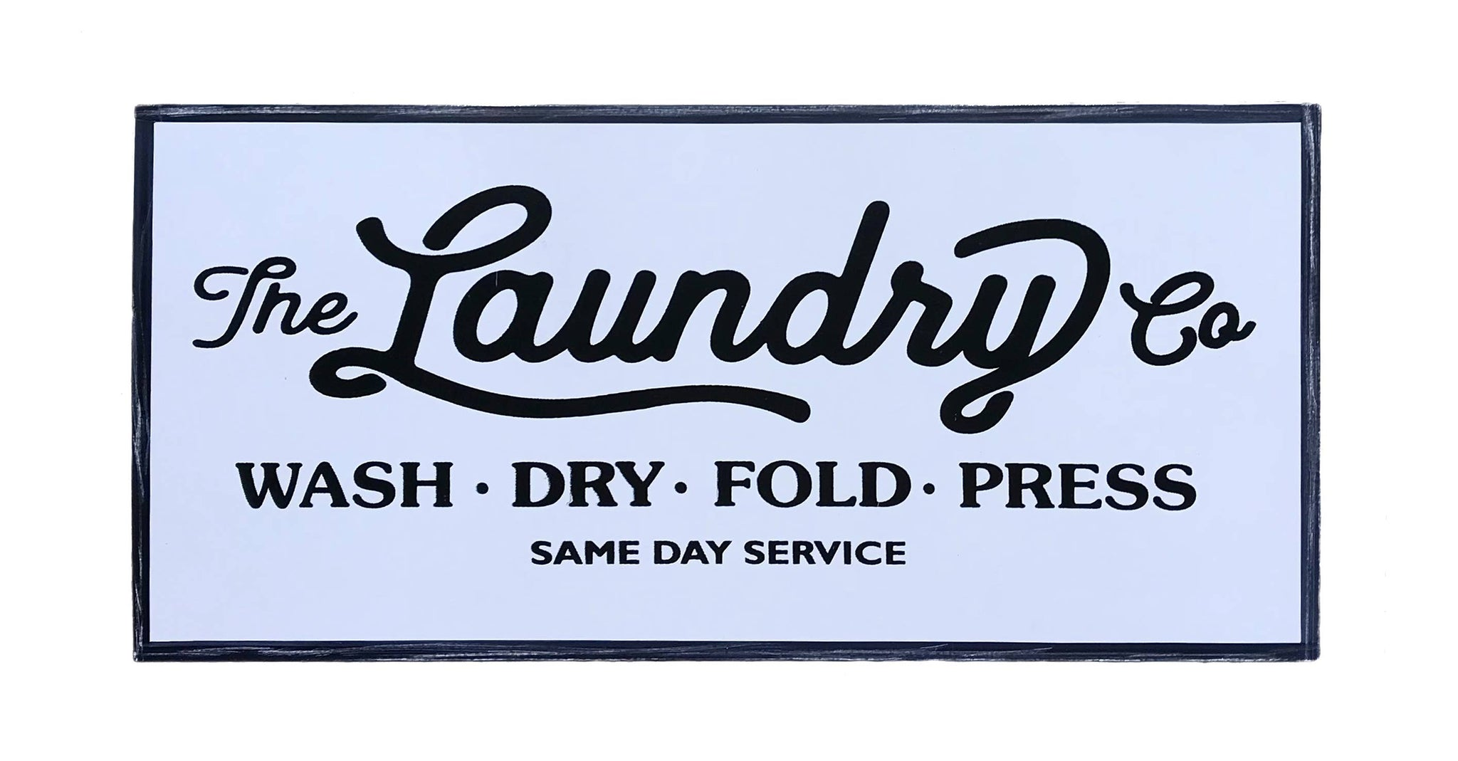 Laundry Metal Sign