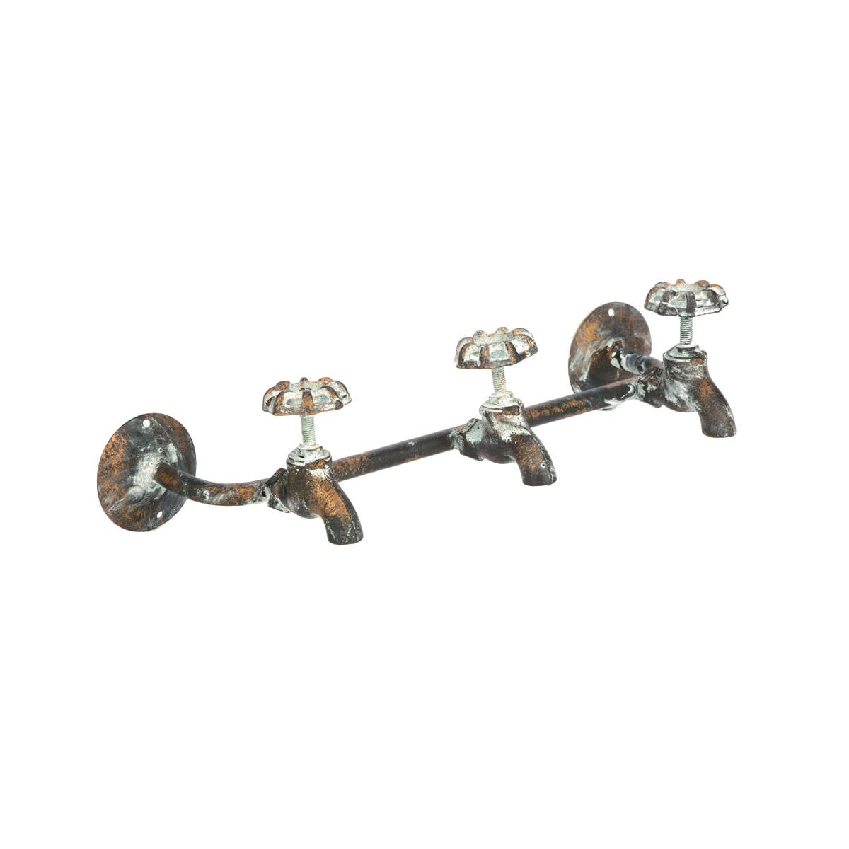 3 Knob Water Spigot Wall Hook
