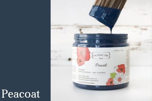 Peacoat - All-In-One Chalk-Style Paint - 4oz. - 16oz. - 32oz.