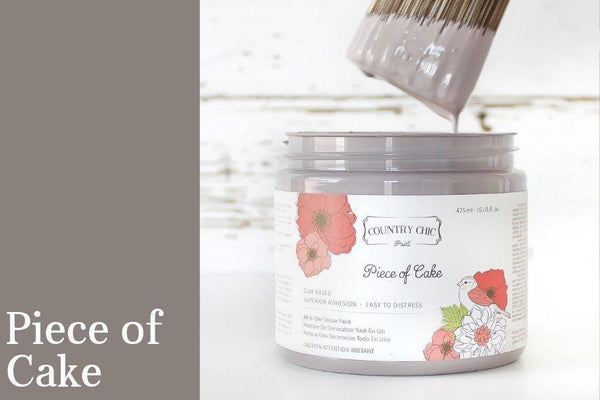 Piece of Cake - All-In-One Chalk-Style Paint - 4oz. - 16oz. - 32oz.