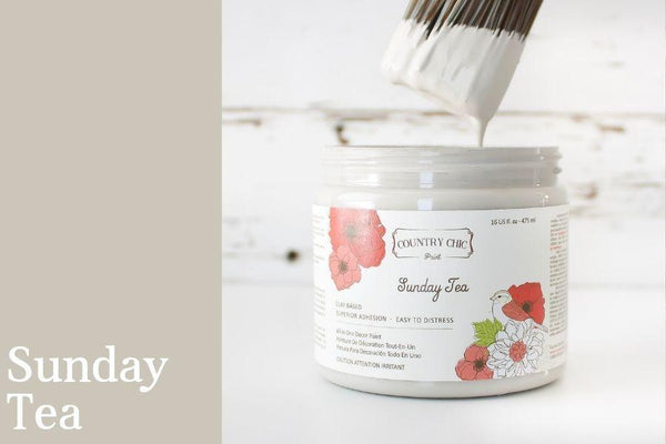 Sunday Tea - All-In-One Chalk-Style Paint - 4oz. - 16oz. - 32oz.