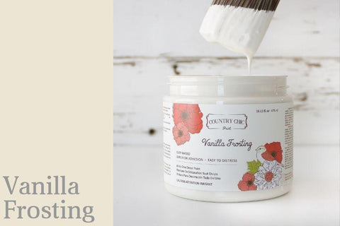 Vanilla Frosting - All-In-One Chalk-Style Paint - 4oz. - 16oz. - 32oz.