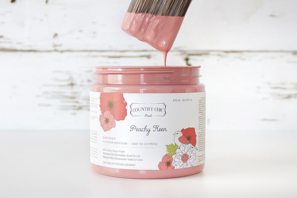 Peachy Keen - All-In-One Chalk-Style Paint - 4oz. - 16oz. - 32oz.
