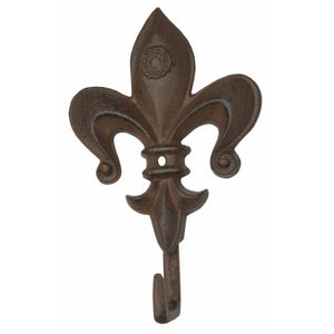 Fleur-De-Lis Hook - Fluer De Lis Hook - Single Hook