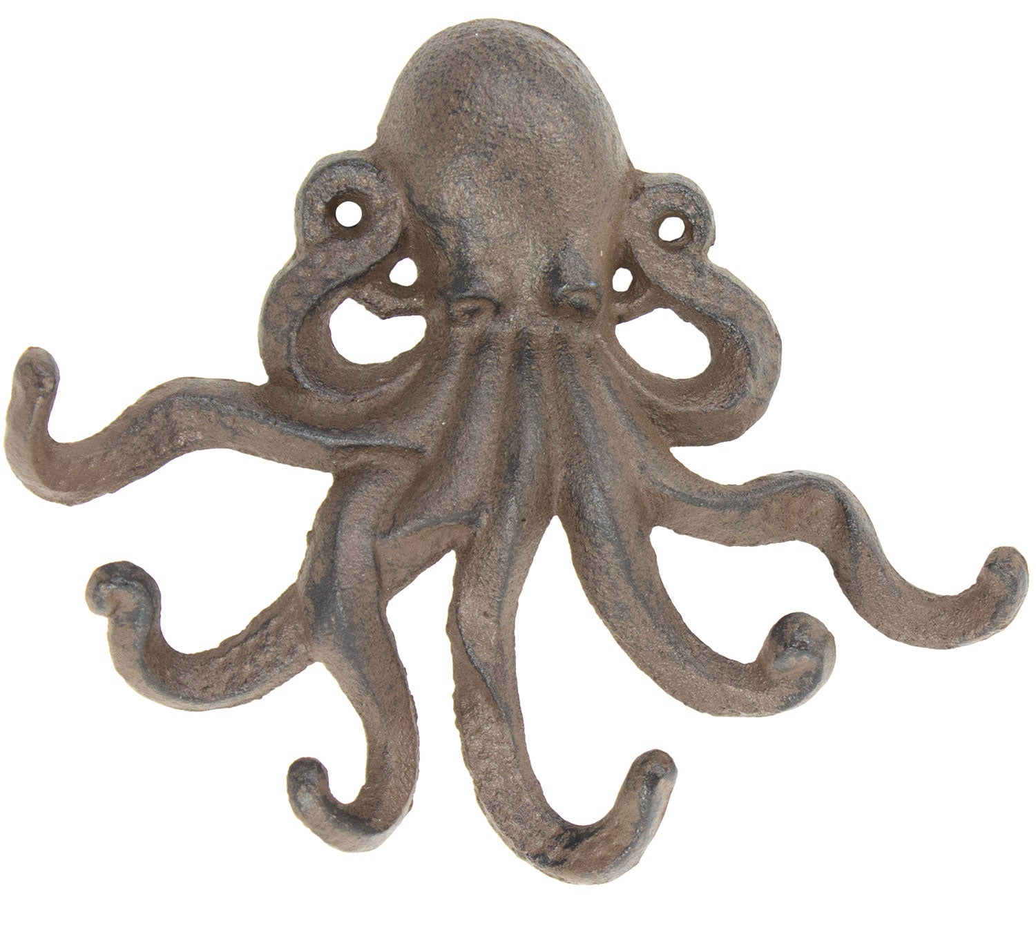 Octopus Hook - Antique Brown