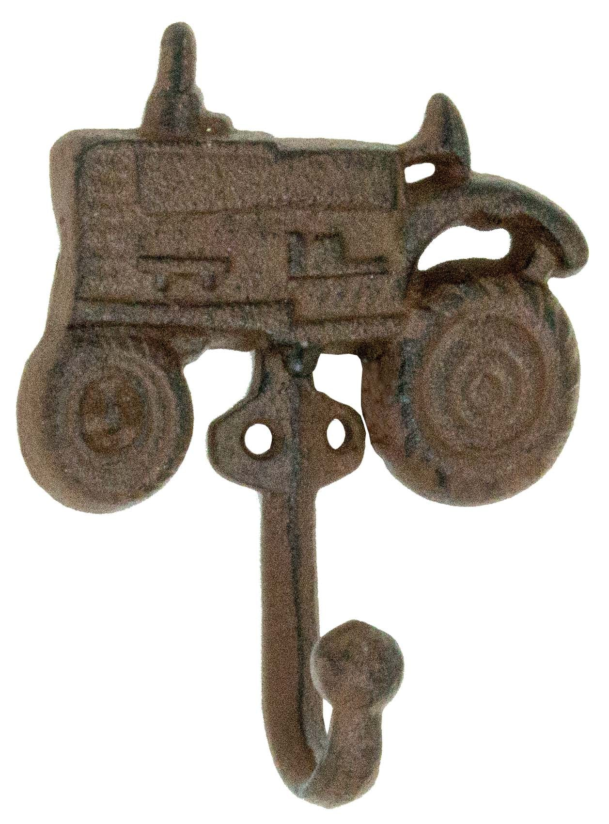 Tractor Hook - Single Hook - Antique Brown