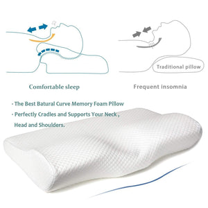 OSEB™ Contoured Orthopedic Neck Pillow