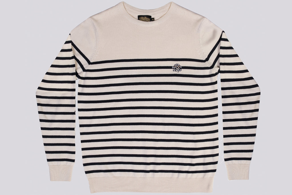 Rockers Delight KRETON Cream Breton Sweater Cream