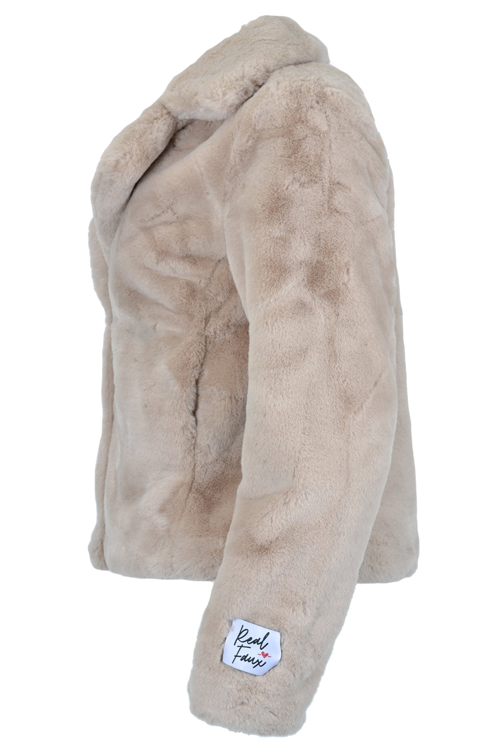 Rino & Pelle JUNA Short Faux Fur Coat Shell