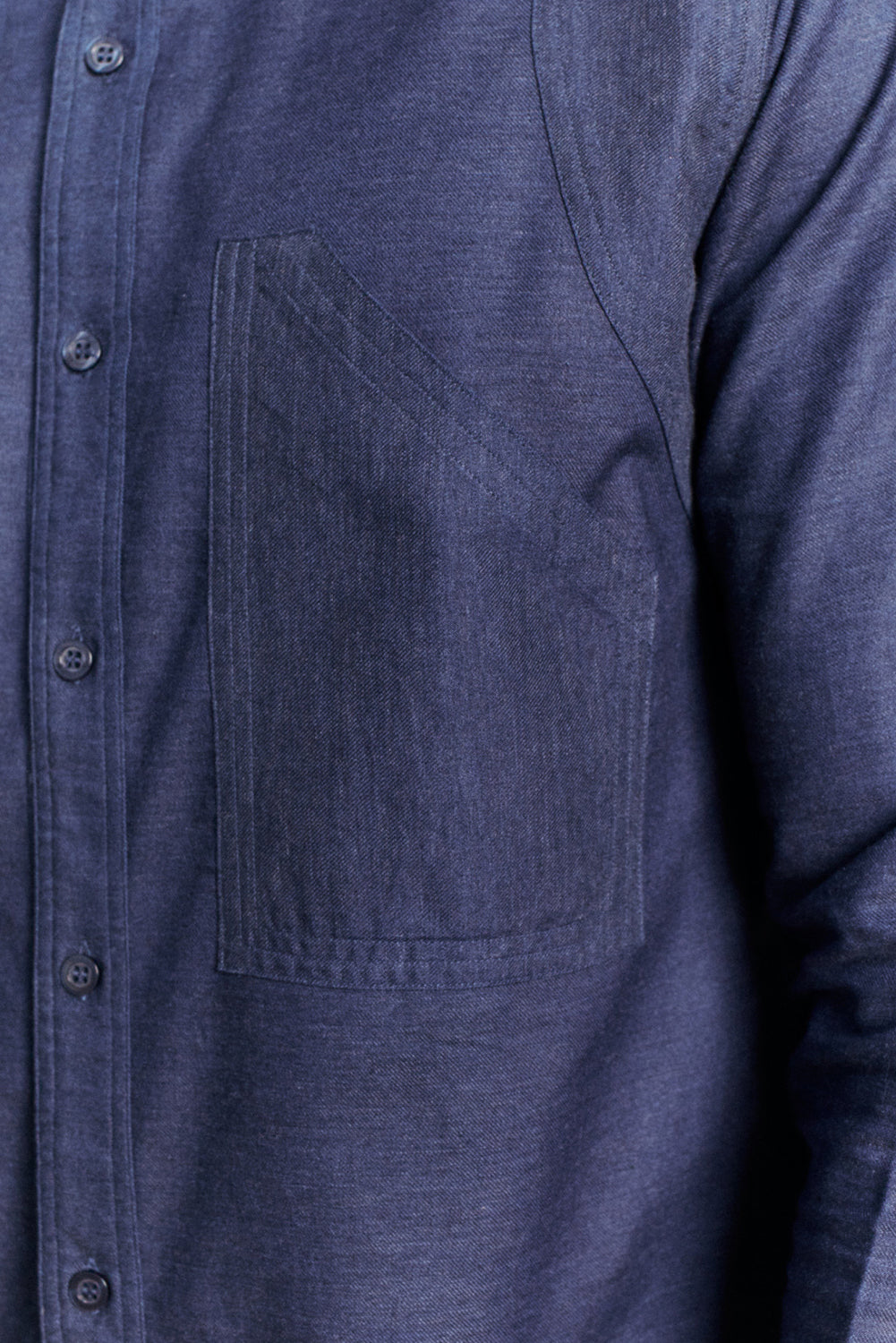 Rockers Delight SACHI Navy Work Shirt Navy