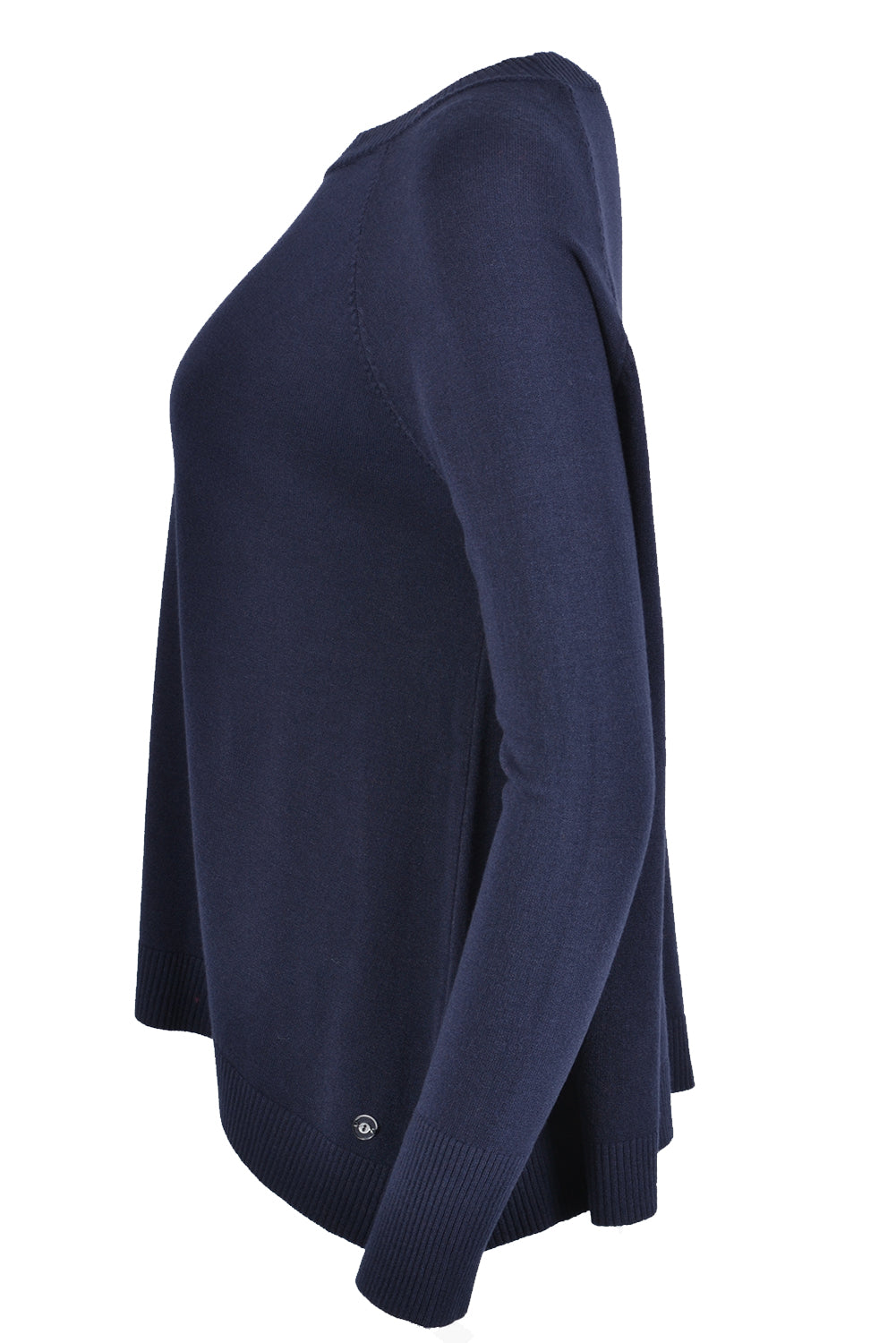 Ottod'Ame Round Neck Jumper Navy