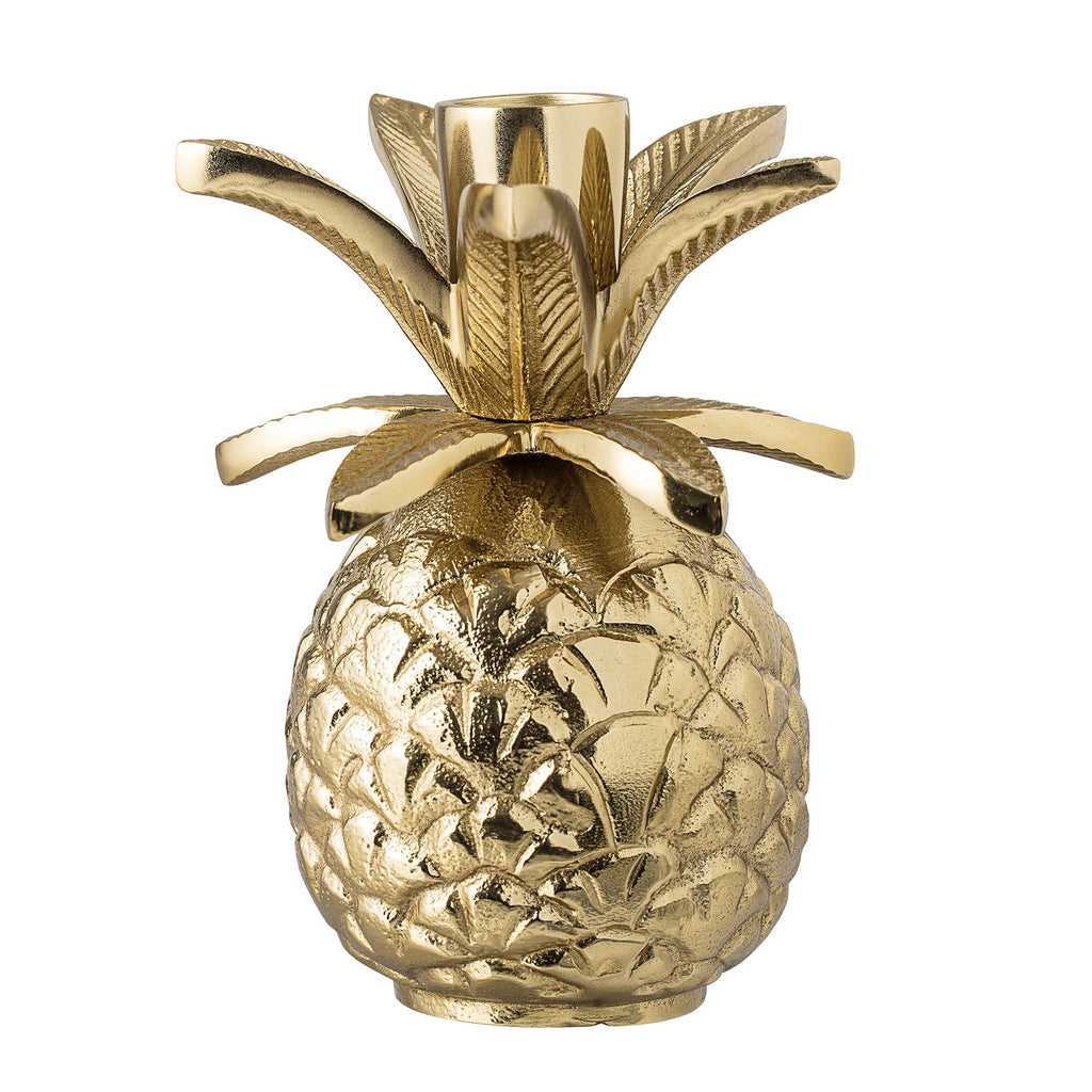 Bloomingville Gold Pineapple Candlestick Gold