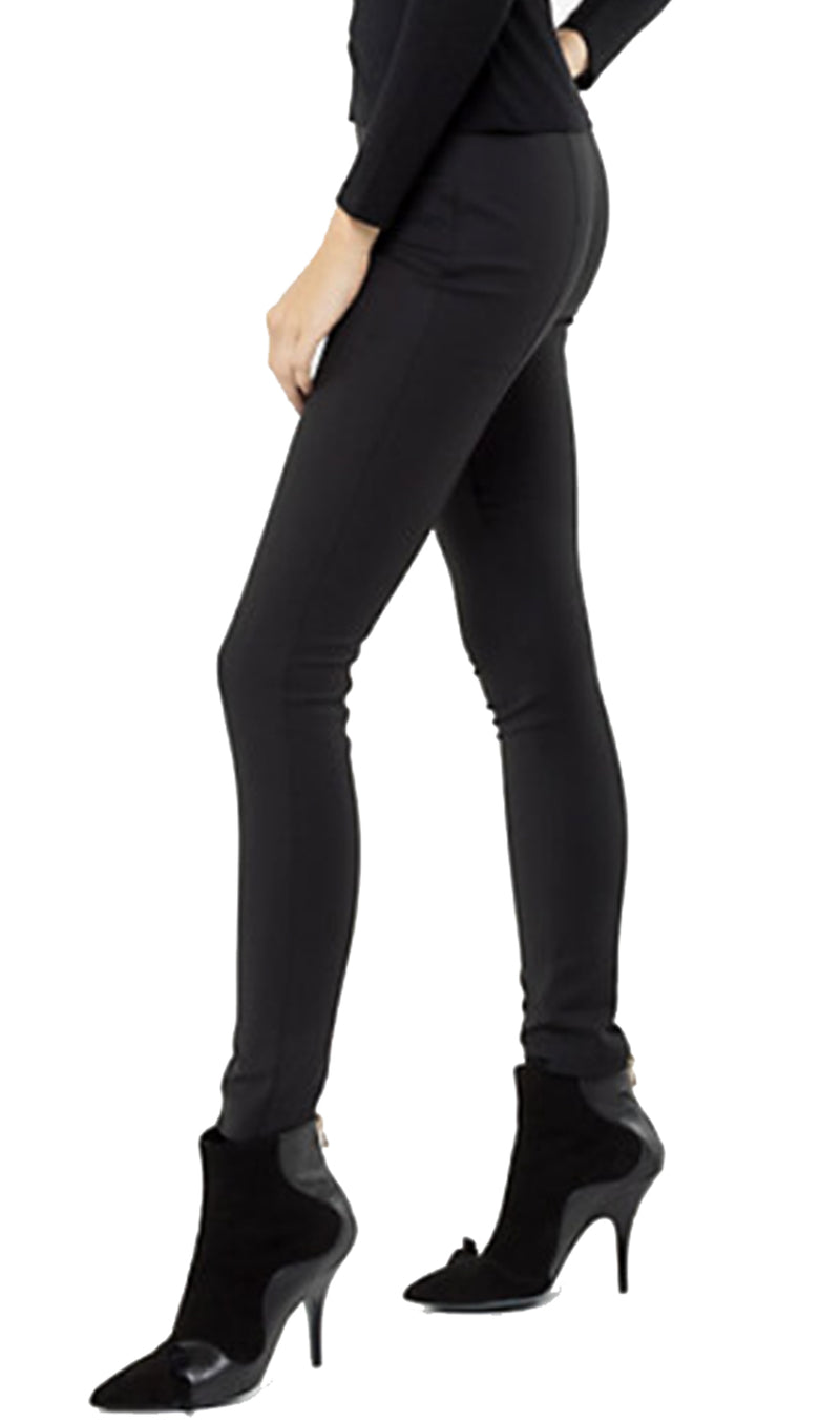 Patrizia Pepe Trousers BP0048 High Waisted Black