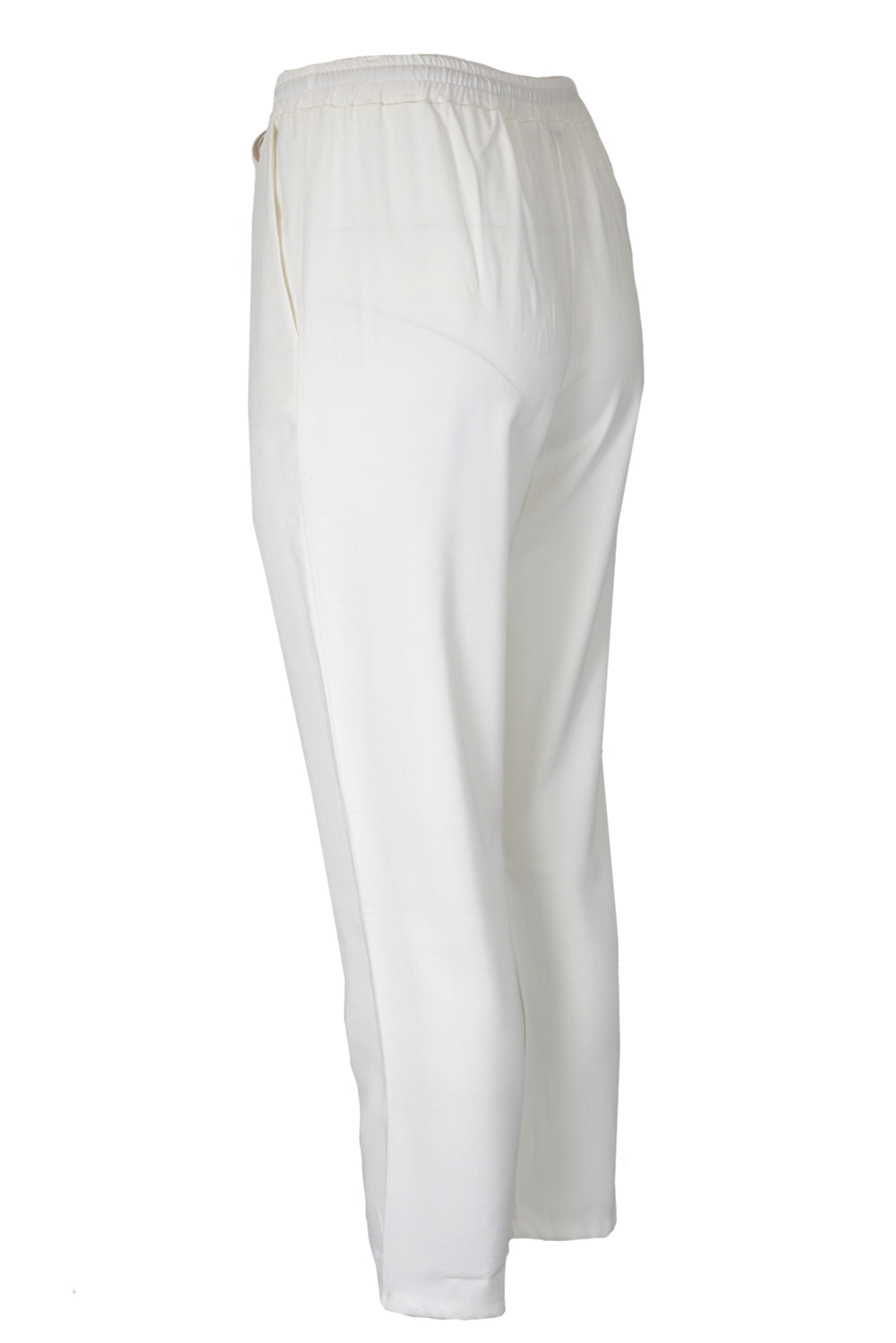 Suzy D Crepe Trousers White