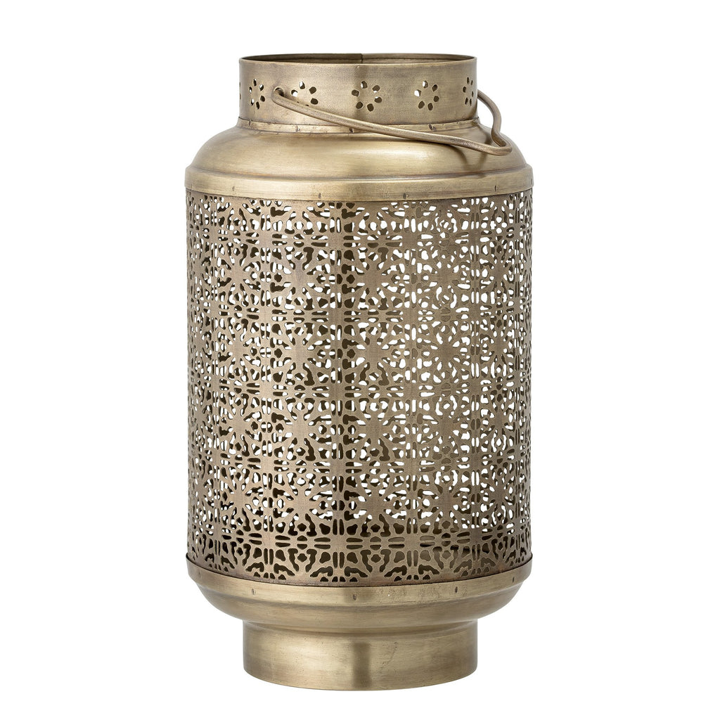 Bloomingville Brass Metal Lantern Gold