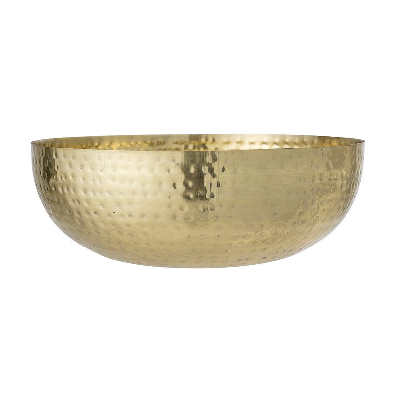 Bloomingville Hammered Gold Metal Bowl