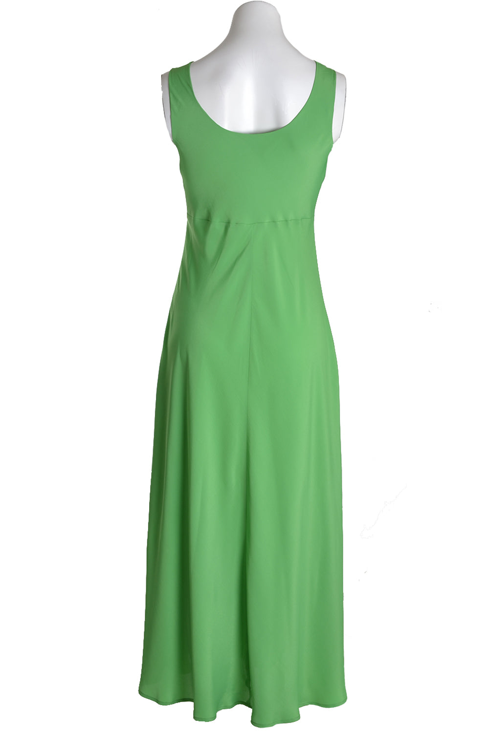 Ottodame Long Dress DA3879 Bias Silk Green Grass