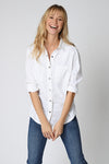 Five Jeans Five Jeans LAURA Star Patch Shirt White