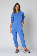 Five Jeans ESTHER  Star Pocket Boiler Suit French Blue