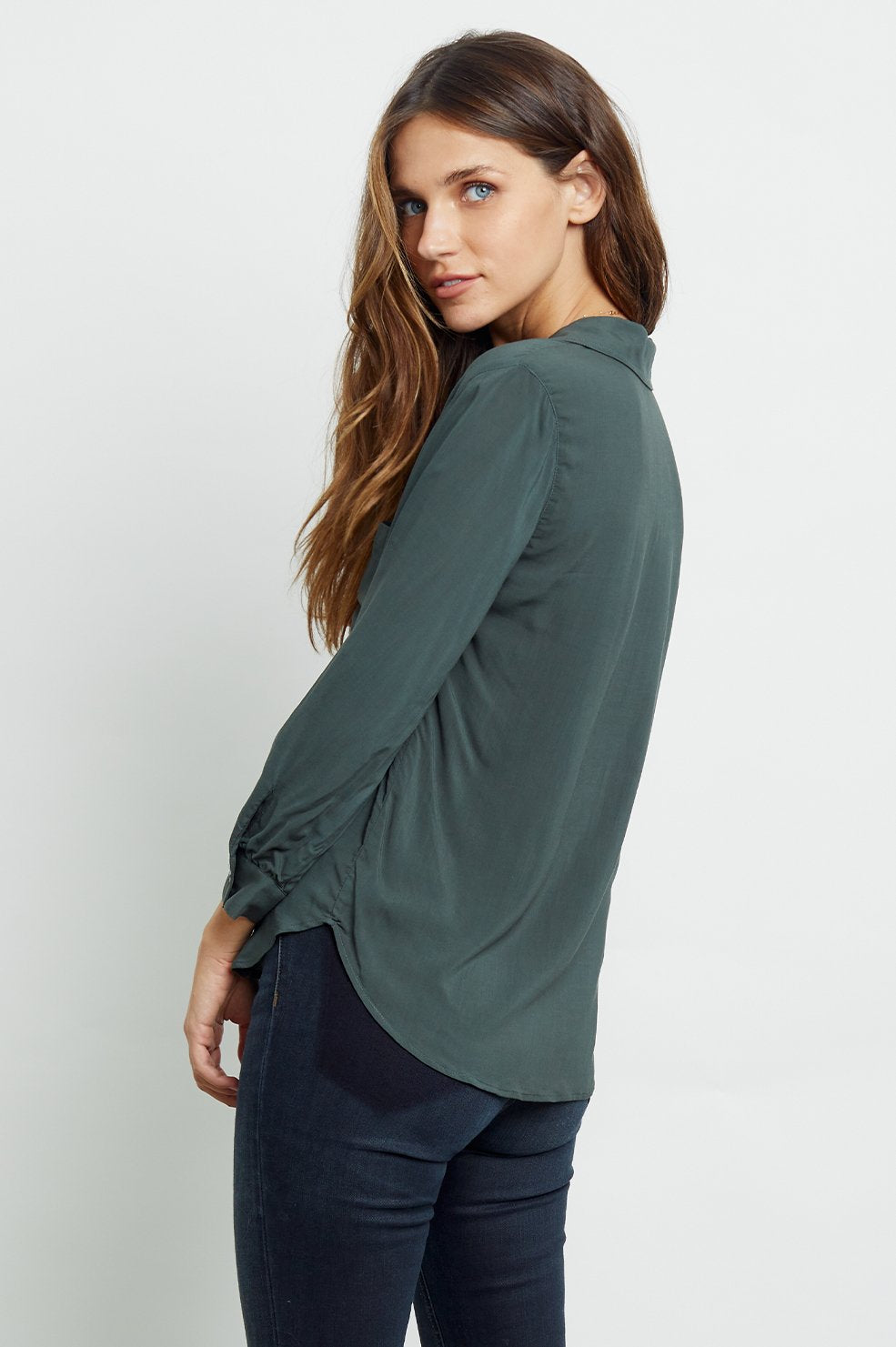 Rails NOEMI Classic One Pocket Shirt Aspen