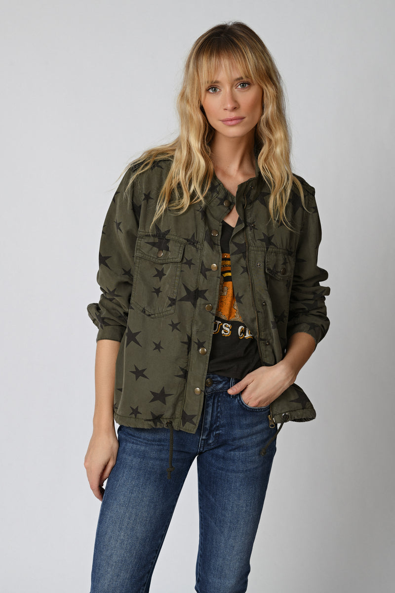 Five Jeans BELLA Star Jacket Khaki