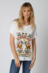 Five Jeans TSE2125 Magical Tiger T-Shirt White