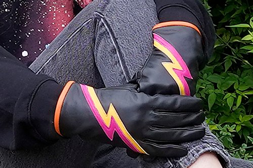 Mabel Sheppard Ziggy Gloves Black
