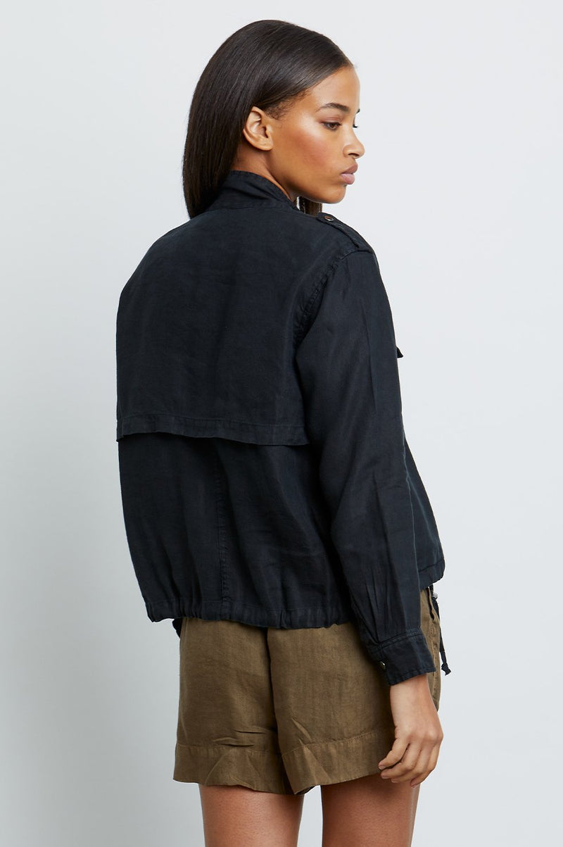 Rails COLLINS Black High Collar Jacket