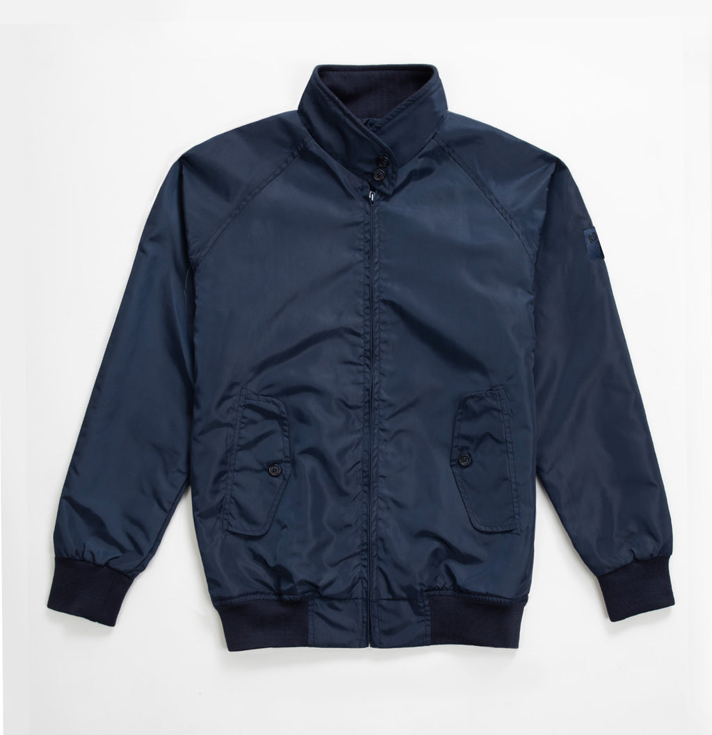 Rockers Delight JAX Harrington Jacket Navy