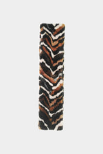 Urban Code Faux Fur Tiger Scarf Multi Tiger