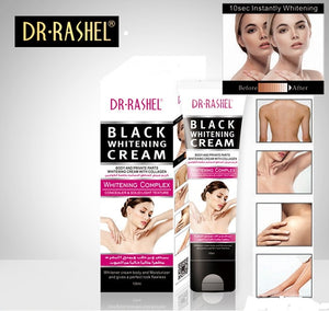 DR RASHEL BLACK WHITENING CREAM (100ml) – She Corner