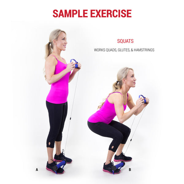 Gwee Gym Increases Exercise with Squats