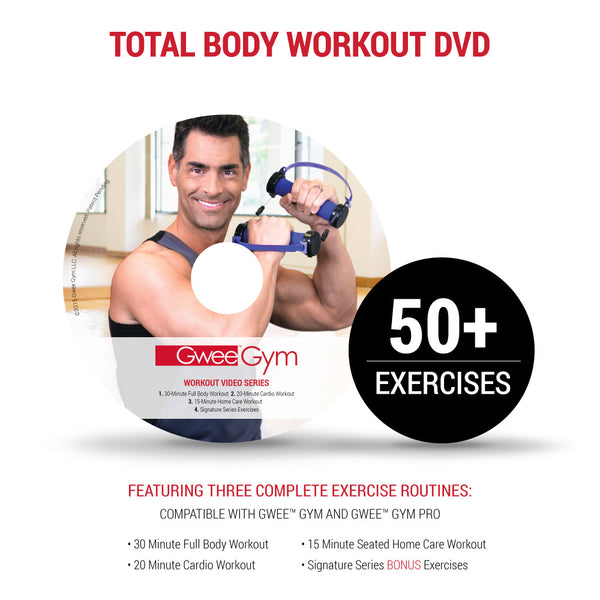 Gwee Gym Pro Exercise DVD Workouts