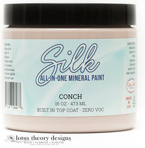 Dixie Belle Silk mineral paint in Conch 16oz