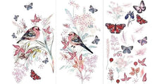 Load image into Gallery viewer, *New* Hokus Pokus transfer Oiseaux Rose