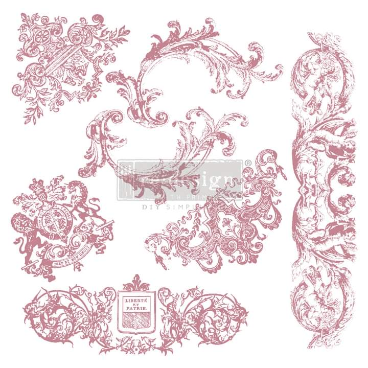 Redesign Decor Clear Cling stamp Chateau De Maisons