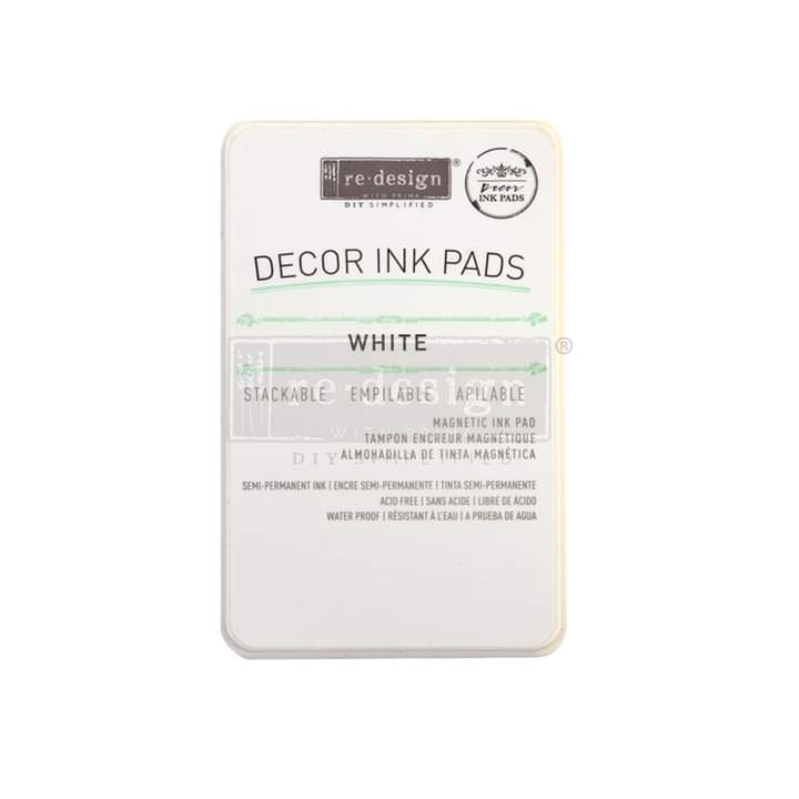 Redesign Decor Ink Pad White