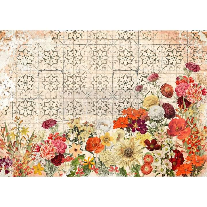 Redesign Decor Rice Paper Twilight Field