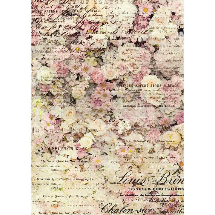 Redesign Decor Rice Paper Floral & Dream