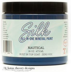 Dixie Belle Silk mineral paint in Nautical 16oz