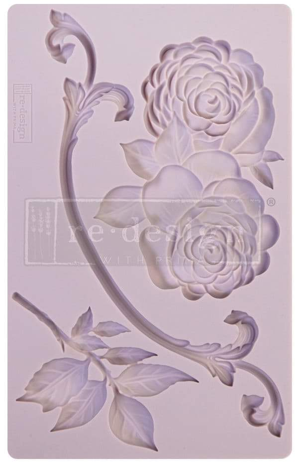 *New* Redesign with Prima Mould Victorian Rose
