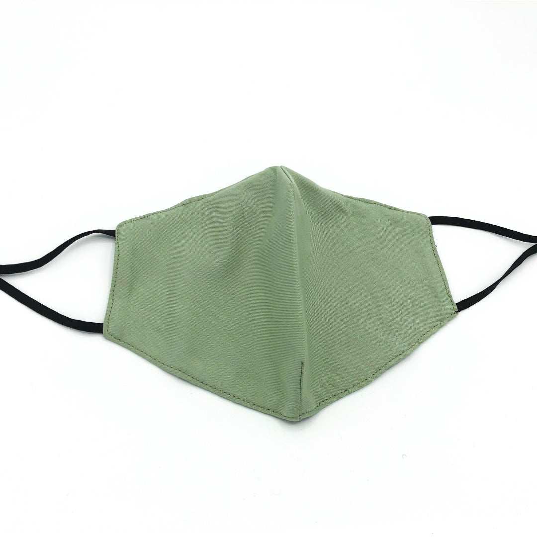 eco-friendly face covering with filter pocket