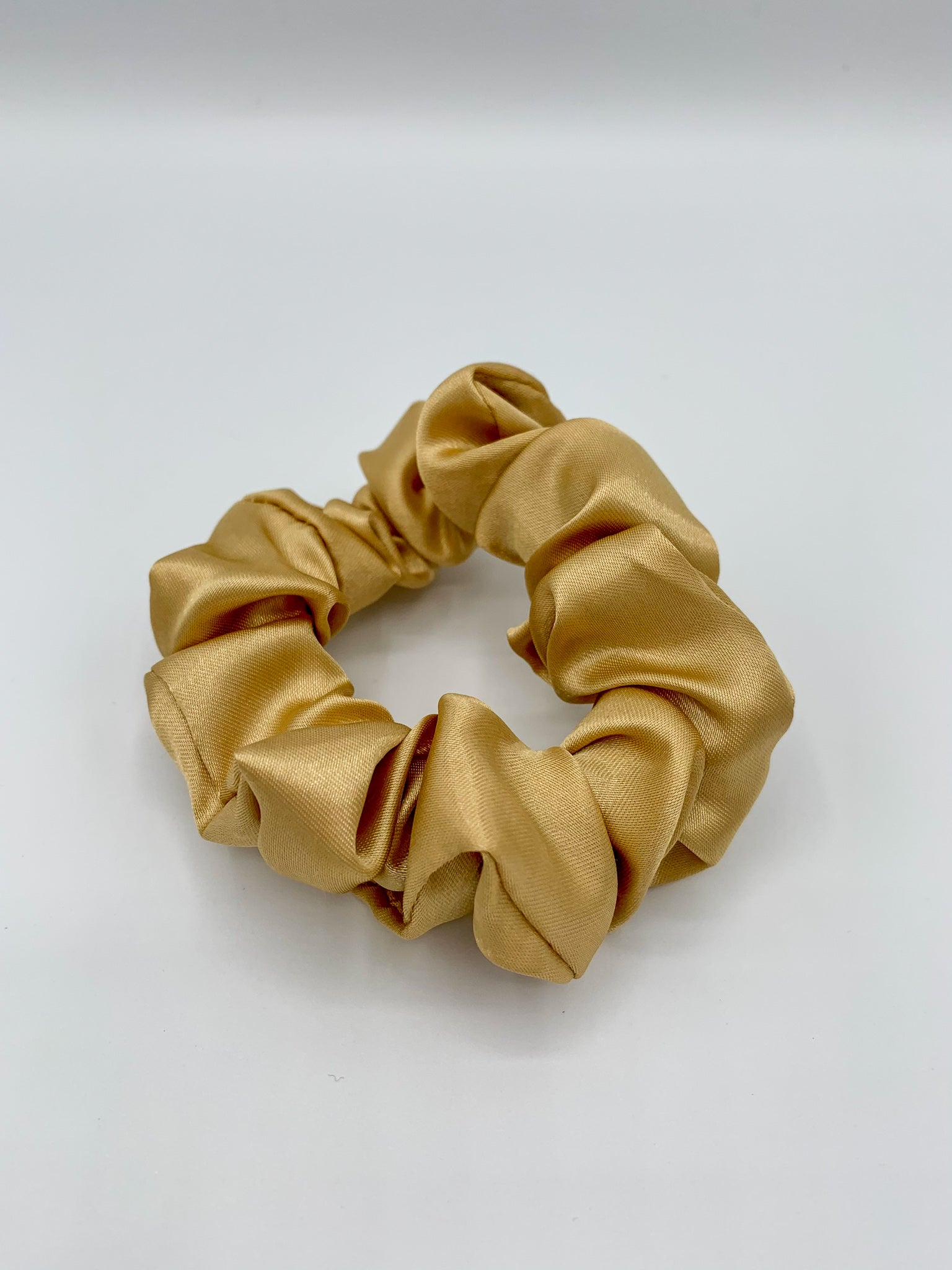 Satin Scrunchie - Stone