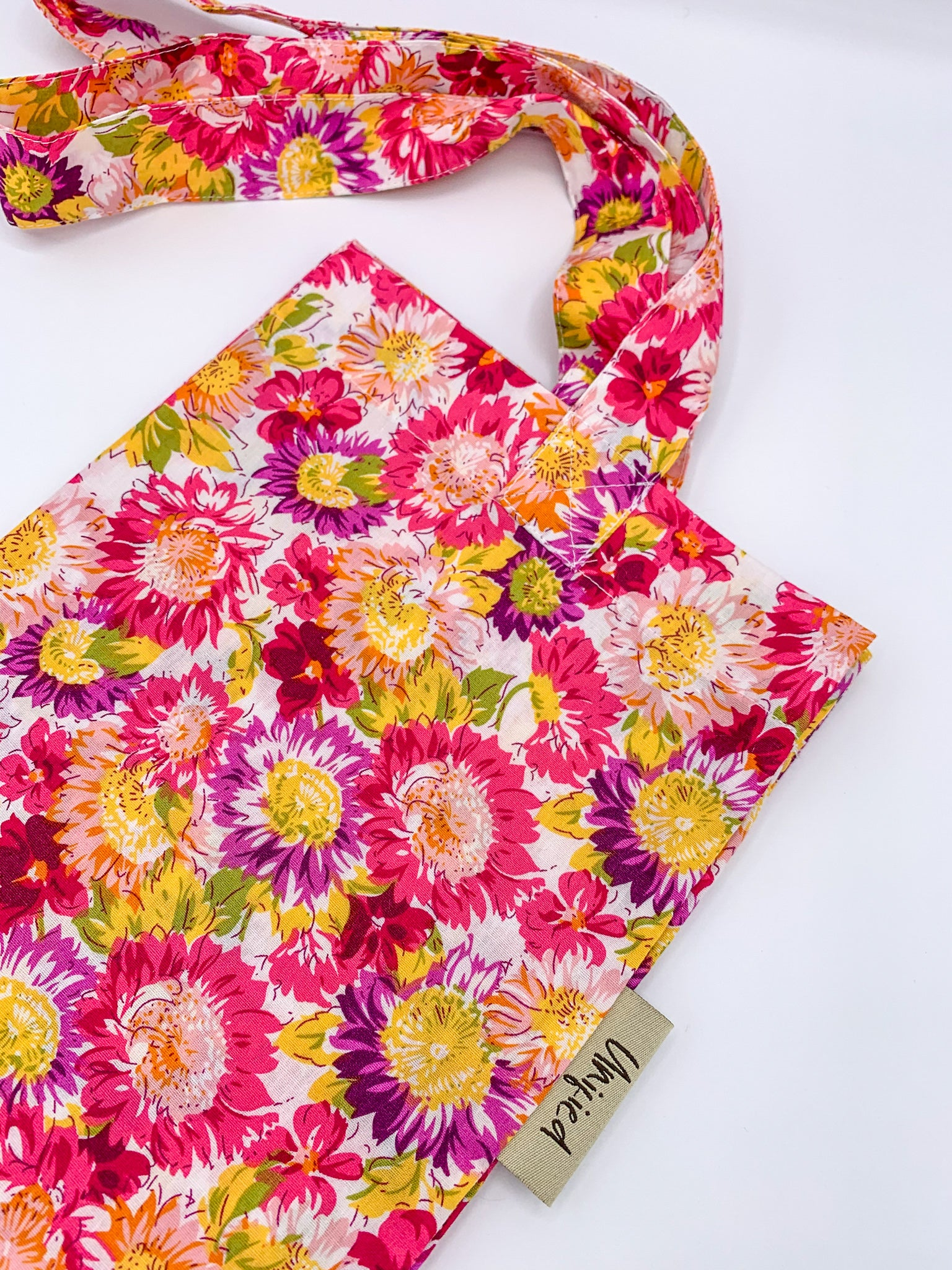 Sunflower Tote Bag - Pink