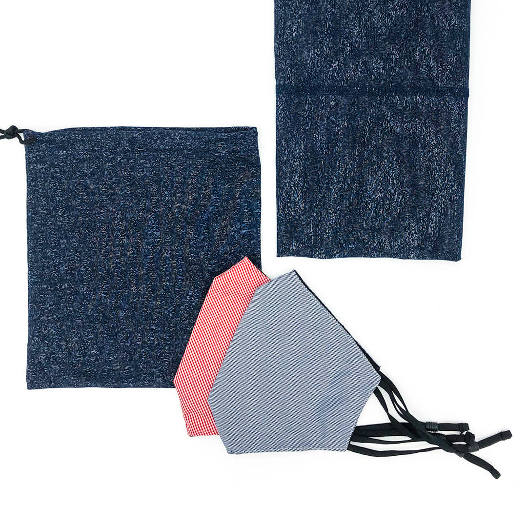 The O'Connor Work Face Covering and Snood Set - with free fabric bag