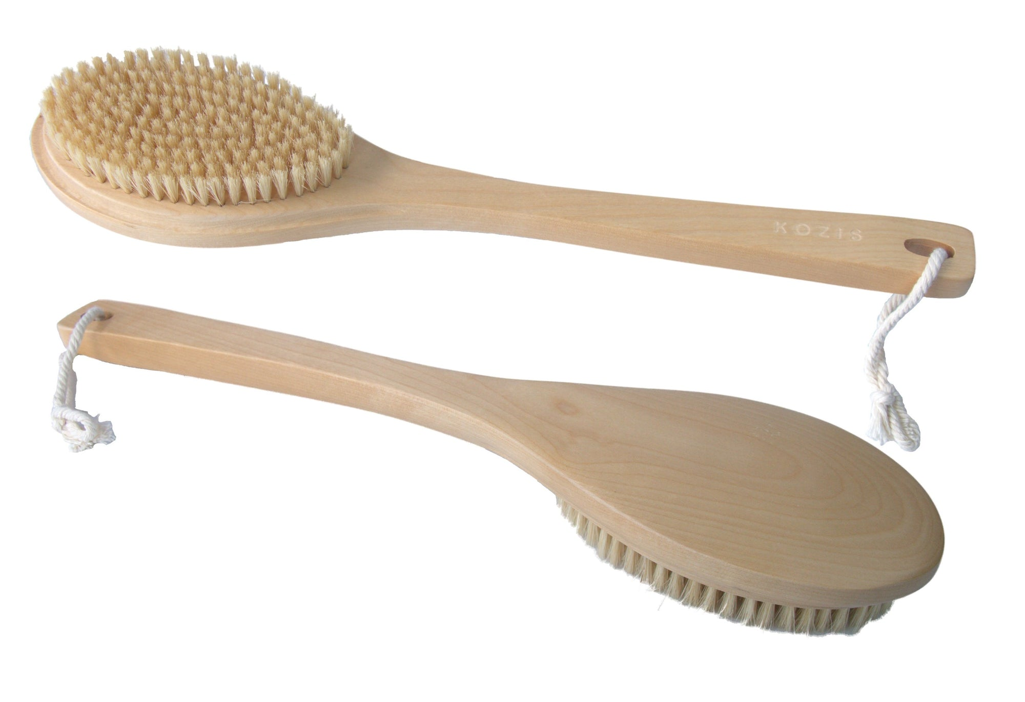 KOZIS Wood Bath Brush