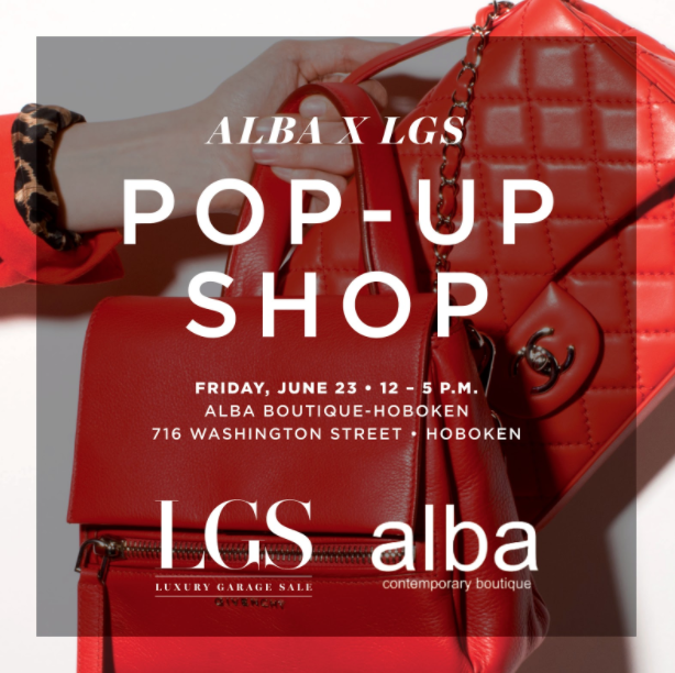 alba X LGS Pop-Up Shop