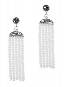 Tassel Bead Drop Earring