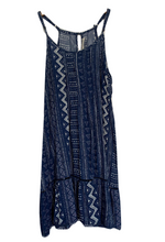 Load image into Gallery viewer, Kennedy Dress - Navy Palm